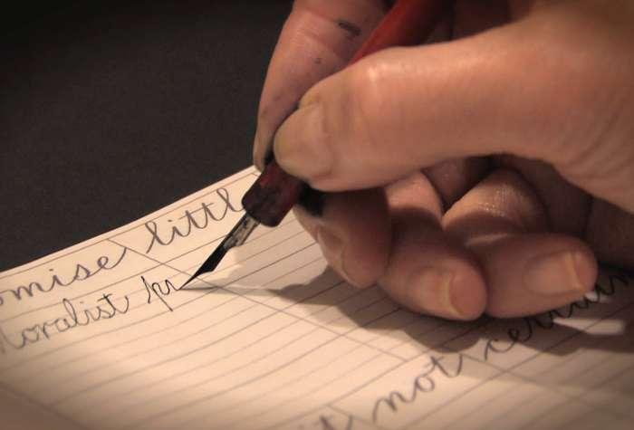 Bold Writing
